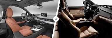 xc90 vs lexus audi q7 e tron vs volvo xc90 t8 hybrid comparison carwow