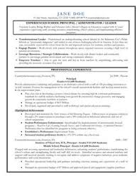 Sample Education Resumes by Lead Your Five Assistant Principal Hacks Leadership