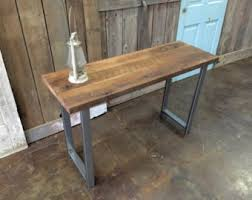 salvaged wood console table console table design barnwood console table and crafts calofornia