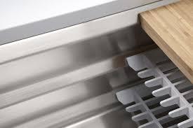 Single Basin Kitchen Sinks by Kohler K 5540 Na Stainless Steel Prolific 33