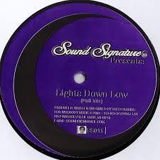 Lights Down Low Remix Theo Parrish U2013 Lights Down Low 12 U2033