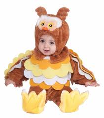 infant toddler child owl bird animal jumpsuit cute baby halloween