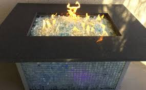 Fire Pit Glass by Element Aquamarine 1 2