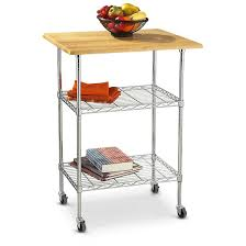 furniture astonishing butcher block cart for kitchen furniture wire and butcher block cart with 2 tier for kitchen furniture ideas
