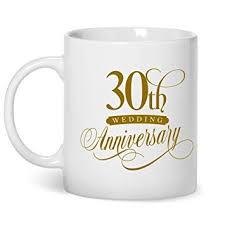 geschenk 30 hochzeitstag 30 hochzeitstag elfenbein hochzeit gifts tasse zum 30