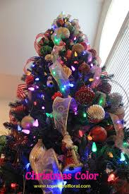 christmas tree with colored lights colorful christmas tree unique floral arrangements by rose fisher