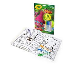coloring u0026 activity book trolls crayola