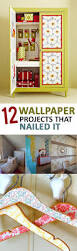 12 wallpaper projects that nailed it craft tutorials and diy ideas