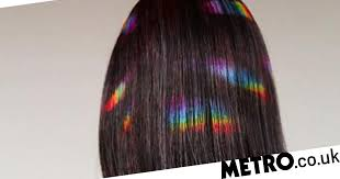 hair uk rainbow prism hair is the look to try if you re nervous about