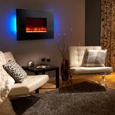 wall mount electric fireplace decorating ideas dark wood northwest