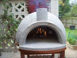 pizza oven easy build first firing youtube