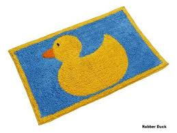 Duck Rugs Homescapes Rubber Duck Bath Mat 45 X 75 Cm 1400 Gsm Rug In 100