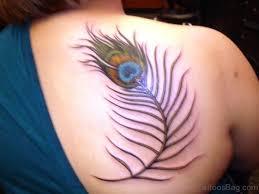 98 cute tattoos for girls on back shoulder
