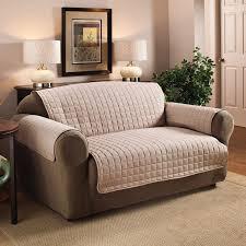 Striped Slipcovers For Sofas Decorations Comfort White Loveseat Slipcover U2014 Iahrapd2016 Info