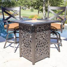 Patio Chairs Bar Height 100 Counter Height Patio Set Large Round Wooden Garden