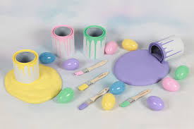 easter photo props easter egg painting set photo propphotography