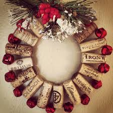 wine cork christmas wreath wine cork decor pinterest cork