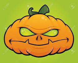 Halloween Monster by Spooky Vector Halloween Pumpkin Head Monster Drawn In A Humorous