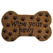 Rubber Cal Wipe Your Paws Coir Entryways Door Mats Mats The Home Depot