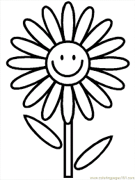 flower coloring printables coloring
