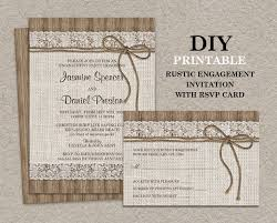 15 engagement party invitations printable psd ai vector eps