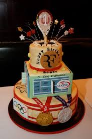 roger federer and tennis cake pinterest fondant cake images