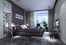 Gray And Purple Bedroom by Dark Purple Bedroom Decorating Ideas Purple Satin Comforter