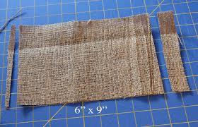 fabric mill tutorial burlap thanksgiving banner