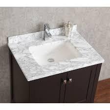 buy vincent 30 inch solid wood double bathroom vanity in espresso