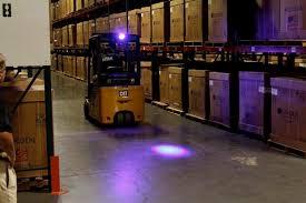 blue warning lights on forklifts fork truck traffic warning light ohio tool systems