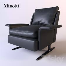 Minotti Armchair 3d Models Arm Chair Minotti Spencer Poltrona Armchair
