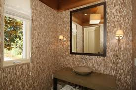 Wallpaper In Bathroom Ideas by Gold Wallpaper Bathroom