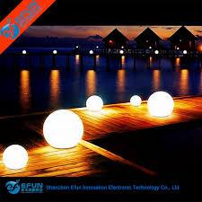 glow balls waterproof decorative rgb color led glow swimming pool solar