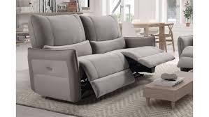 revetement canapé voici un canapé de salon relax électrique 3 places très