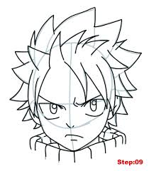 how to draw fairy tail characters step by step archives pencil