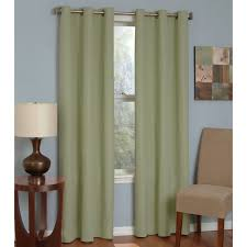 Eclipse Curtain Liner Eclipse Thermaback Microfiber Grommet Blackout Window Panel