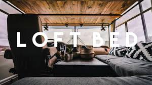 Bed In Living Room Diy Over Cab Loft Bed In A Class A Motorhome Youtube