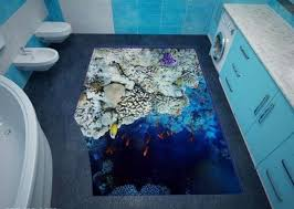 unique bathroom flooring ideas 14 unique 3d bathroom floor designs that will your mind top