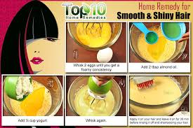 how to make hair strong home remedies for smooth and shiny hair top 10 home remedies