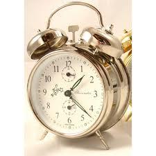 wind up alarm clocks sternreiter and bulova mechanical alarm clocks