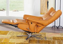 himolla harmony zerostress integrated recliner leather chair