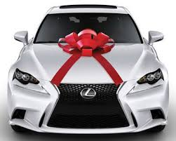 car gift bow car bow with magnetic base water resistant bow large