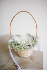 best flower girl gifts flower basket for wedding best 25 flower girl basket ideas on