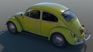volkswagen bumblebee artstation 1967 classic volkswagen beetle andrew majewski