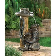 wild western water fountain wholesale at koehler home decor