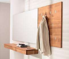 team7 coat rack has slimline integrated flush mounted folding