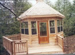 Ideas For Enclosing A Deck by Concept Ideas Enclosed Gazebo Design 17633 Backyard Ideas
