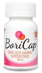 buric acid boricap boric acid suppositories 28 count 600mg