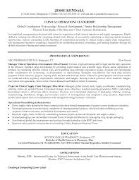 Clinical Resume Examples by Resume Clinical Resume