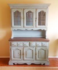 Country Hutch Furniture Hutch Painted With Chalk Paint I Want To Try Repurposing